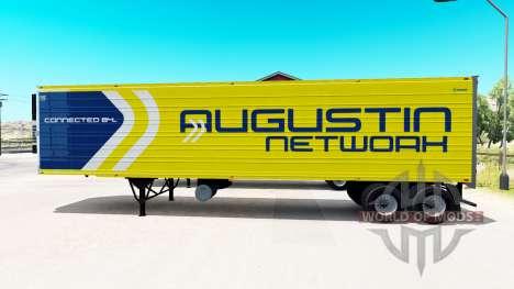 Сборник 33 скинов на полуприцепы для American Truck Simulator