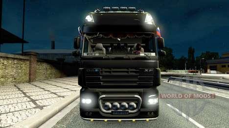 Эффект от огней v2.0 для Euro Truck Simulator 2
