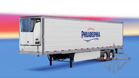 Скин Philadelphia на полуприцеп для American Truck Simulator