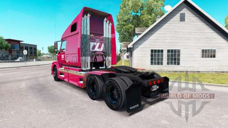Скин Transco Lines inc. на тягач Volvo VNL 670 для American Truck Simulator