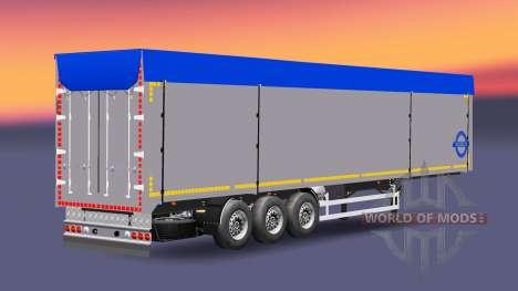 Сборник полуприцепов с различными грузами v2.7 для Euro Truck Simulator 2