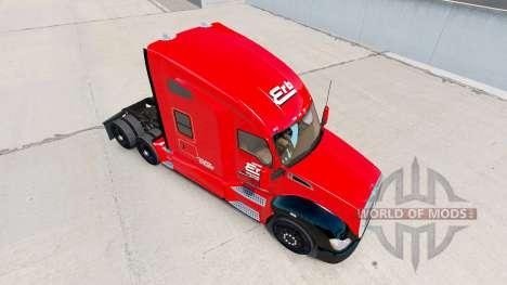 Скин Erb Transport на тягач Kenworth для American Truck Simulator