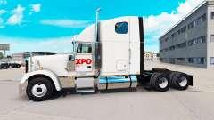 Скин XPO Logistics на тягач Freightliner Classic