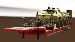 Полуприцепы с военной техникой v1.4