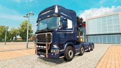 Chassis 8x4 Scania