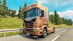 Скин Ferrugem на тягач Scania