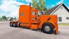 Скин YRC Freight на тягач Peterbilt 389