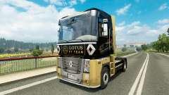 Скин F1 Lotus на тягач Renault