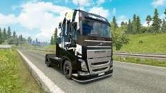 Скин Infamous Second Son на тягач Volvo