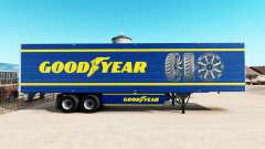 Скин Goodyear на рефрижераторный полуприцеп