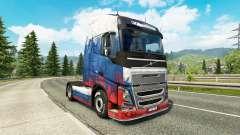 Скин Russia на тягач Volvo