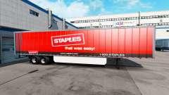 Скин Staples Inc. на полуприцеп