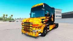 Скин Hot Ride на тягач Scania T