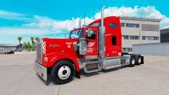 Скин Heartland Express [red] на тягач Kenworth