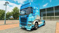 Скин Klanatranas на тягач Scania