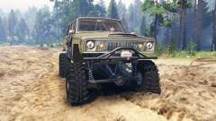 Jeep Wagoneer 1978 [without doors] для Spin Tires