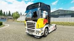 Скин Red Bull на тягач Scania
