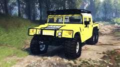 Hummer H1 6x6 Raptor v3.0