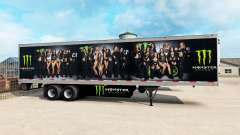 Скин Monster Energy на полуприцеп