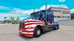 Скин USA Flag на тягач Kenworth T800