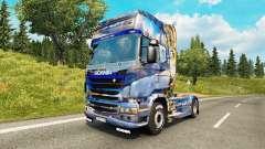 Скин Winter на тягач Scania