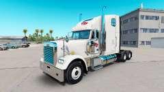 Скин FTI Transport на тягач Freightliner Classic