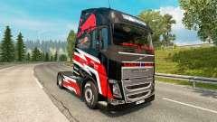 Скин Red Bull на тягач Volvo