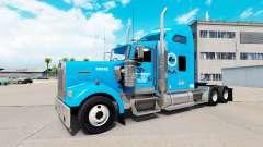 Скин Gordon Trucking на тягач Kenworth W900