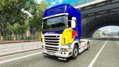 Скин Red Bull v2.0 на тягач Scania