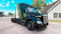 Скин Falken Monster Energy на тягач Peterbilt