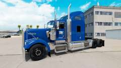 Скин YRC Freight на тягач Kenworth W900