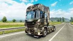 Скин City на тягач Scania