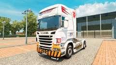 Скин CSAD Turnov на тягач Scania