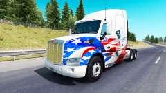 Скин USA Trucks на тягач Peterbilt