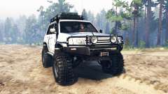 Toyota Land Cruiser 100 2000 [Samuray] для Spin Tires