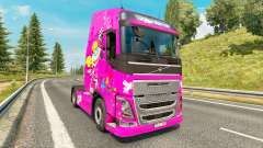 Скин Dee Dee на тягач Volvo