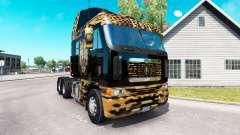 Скин Jaguar на тягач Freightliner Argosy