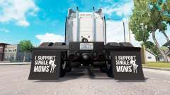 Брызговики I Support Single Moms v1.1