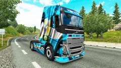 Скин Argentina Copa 2014 на тягач Volvo