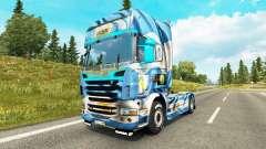 Скин Argentina Copa 2014 на тягач Scania