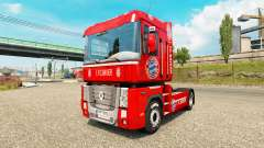 Скин FC Bayern на тягач Renault