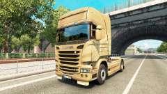 Скин 50th Anniversary на тягач Scania