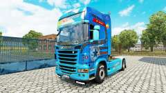 Скин Need For Speed Hot Pursuit на тягач Scania