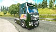 Скин Military Cargo на тягач Volvo