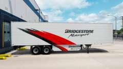 Скин Bridgestone на рефрижераторный полуприцеп