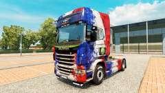 Скин France Copa 2014 на тягач Scania