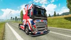 Скин England Copa 2014 на тягач Volvo