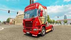 Скин King of the Road на тягач Scania