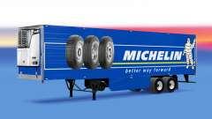 Скин Michelin на рефрижераторный полуприцеп