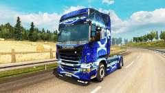 Скин Dub Step на тягач Scania